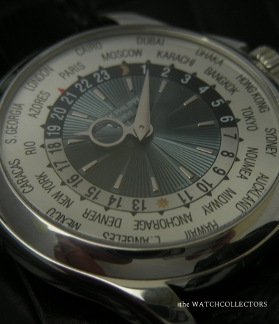 Rare Worldtimer Ref.5130 Platine Full Set 2009 !  5130 P