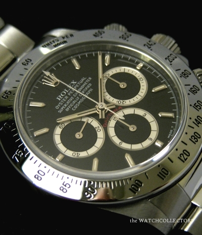Cosmograph Daytona Ref.16520 T  Cream Counters  Inverted 6 Full Serviced  ! 1997 Rolex 2 years Warranty 16520 U