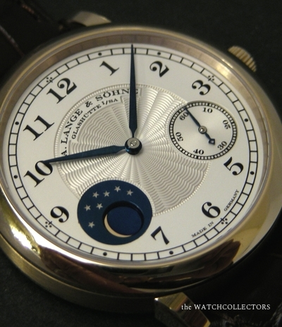 Rare Homage to F.A Lange 1815 Honey Gold Phases de Lune Ref.212.050 Full Set xx/265 Wordwide !  212.050