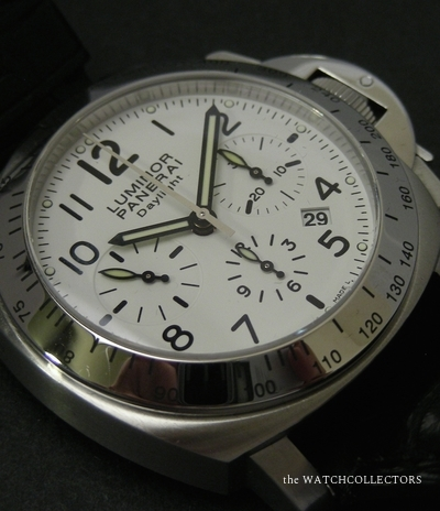 Luminor Chronograph Daylight PAM 188 Full set & Full Serviced by Panerai !  PAM 188