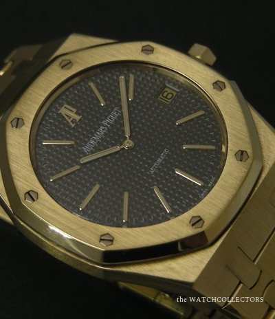 Rare Royal Oak Or Jaune Jumbo Jubilee Ref.14802BA.00.0944.BA.01 Full Set !  14802BA.00.0944.BA.01