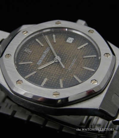 Royal Oak Automatique Tropicale 36 mm Ref.14332 ! Full Service AP ! Exceptionnel !  14332