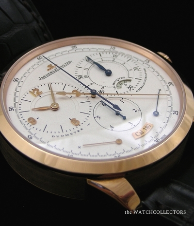 Rare Duomètre Chronographe en Or Rose . Ref.600.2.28.S Full Set !  600.2.28.S