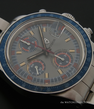 Very Rare Vintage Chronograph Exotic Dial  Ref.9420/0 1977 9420/0