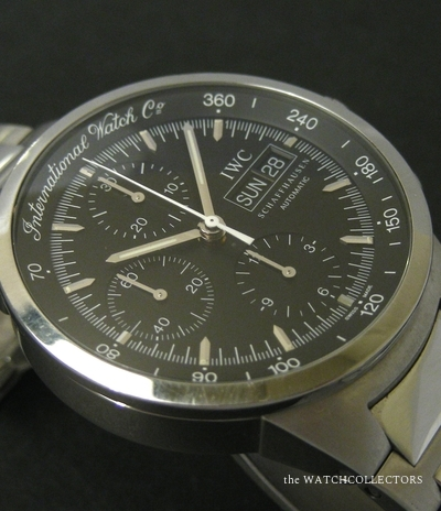 Aquatimer GST Chronograph Ref. 3707 Full Set , Full Serviced by IWC 1 propriétaire !  3707