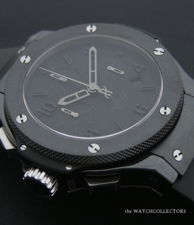 Rare Big Bang All Black Drive Left Handed One of 50 pieces Full Set !