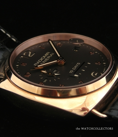 Special Edition Radiomir Pink Gold 10 Days PAM 497 Full Set ! 250 ex .  PAM 497
