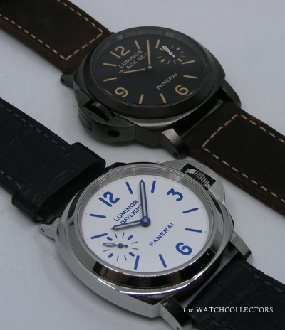 Special Set Luminor 2 Watches Daylight & Blackseal  PAM 786 Ecrin & Certificat d'Origine  !  PAM 786