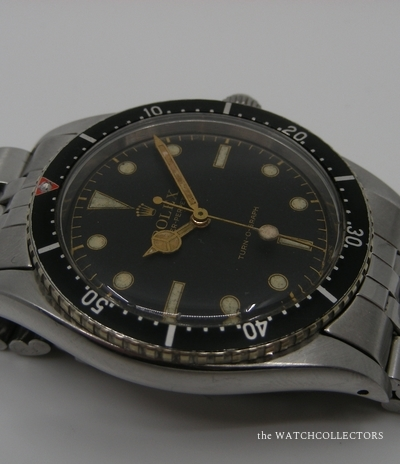 Vintage Turn'O Graph Ref.6202 So Called Baby Submariner ! 1954  6202