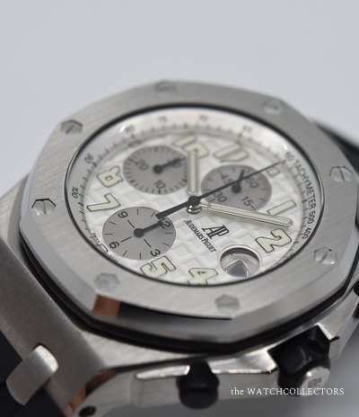 Offshore ChronographRef.26020ST.00.D001IN.02.A Original Box & Papers  !  26020ST.00.D001IN.02.A