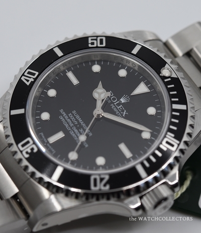 Rare Out Of Production Submariner No Date Ref.14060 M V series Full Set 2008 In the Stickers ! Unworn  14060M