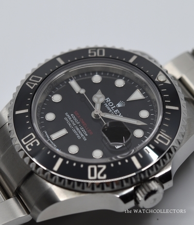 Red Seadweller Ref. 126600 Original Box & Papers 06/2017 !  126600