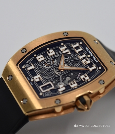 Rare Pre-Owned Ultra Flat RM67-01 Rose Gold Box and original Papers !  Rm 67-01