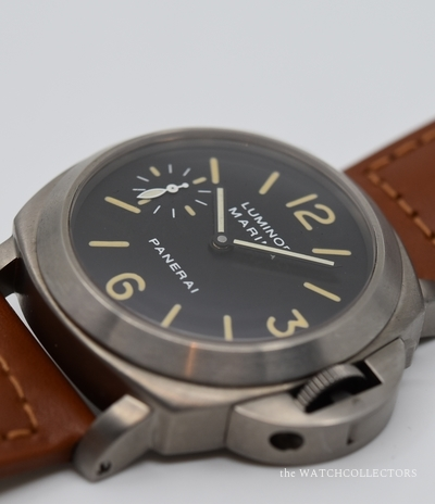 Luminor Marina Titanium PAM 40 Tritium Dial . Original Box & Papers !  PAM 40
