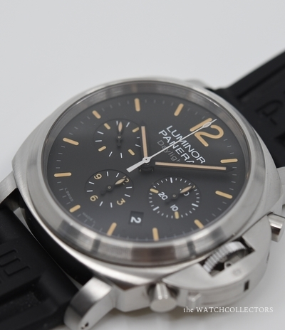 Luminor Marina Chronographe Daylight PAM 356 Dirty Dial Full Set ! 2013 PAM 356