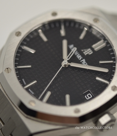 Royal Oak 41 mm Black REF 15500ST.OO.1220ST.03 Original box and papers 11/2019 !  15500ST.OO.1220ST.03
