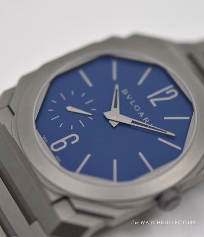 Octo special edition blue dial 20pcs Limited edition for Italy Ref.BG040 Ecrin & certificat d'origine ! BG040