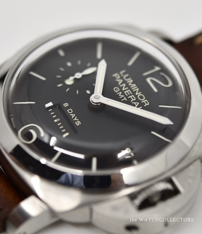First série Luminor Marina 1950 GMT 8 Days PAM 233 I Series Ecrin & certificat d'origine ! 2006  PAM 233
